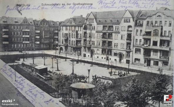 Goetheplatz Breslau